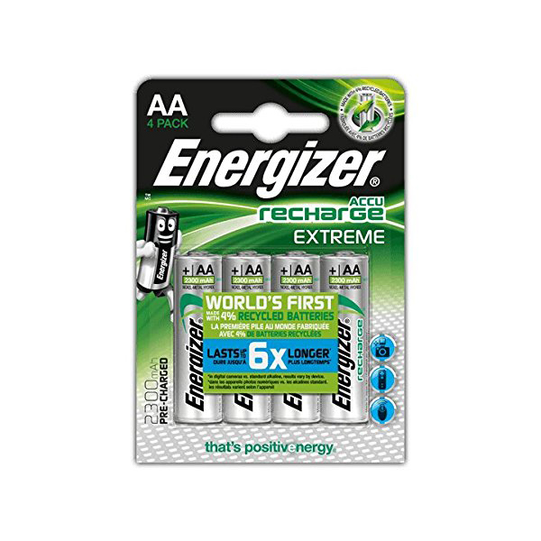 Energizer Extreme NH15ERP4 NiMH AA Recharge Battery (pkt/4pc)