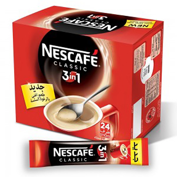 Nescafe 3 in 1 My Cup Classic (pkt/24pcs)