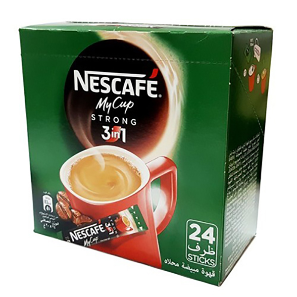 Nescafe MY CUP 3 in 1 Strong green (35pc/pkt)