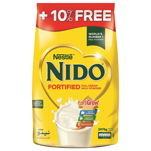 Nido Fortified Milk Powder - 2475g (pc)