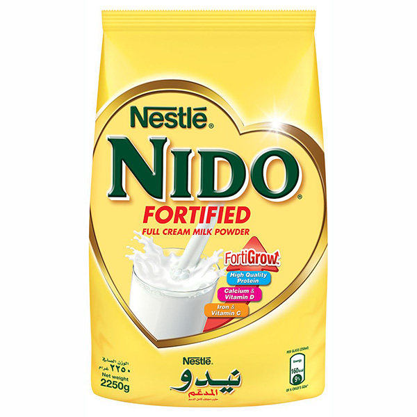 Nido Fortified Milk Powder - 2250g (pc)