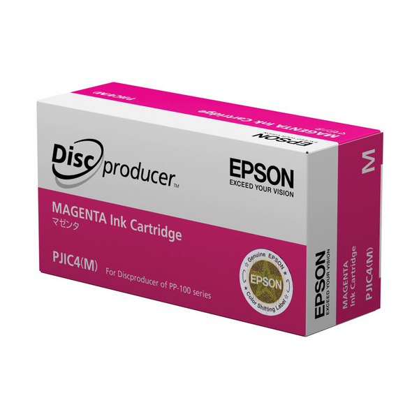 Epson PJIC4(M) Magenta Ink Cartridge for the PP-100 Discproducer Auto Printer