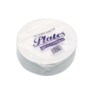 Hotpack Paper Plate 7 (pkt/12pc)