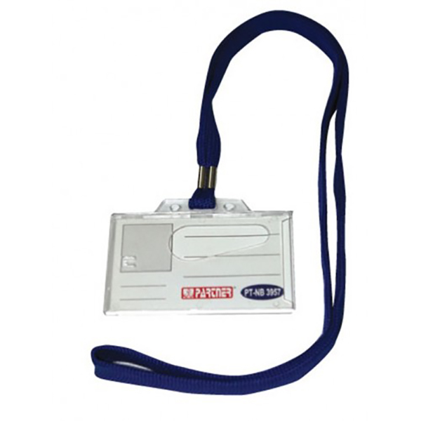 Partner NB 10 ID Badge holder with clip box Vertical (pc)