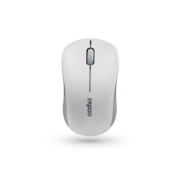 Rapoo 6010B Wireless Bluetooth Mouse - White
