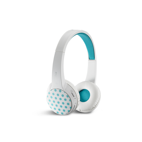 Rapoo Bluetooth Stylish Multi-Device Headset S100 - White