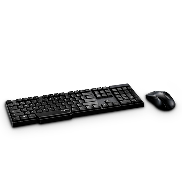 Rapoo Combo Wireless (KB+MSE) 1830 - Black