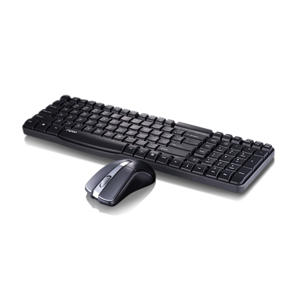 Rapoo Combo Wireless (KB+MSE) X1800 - Black