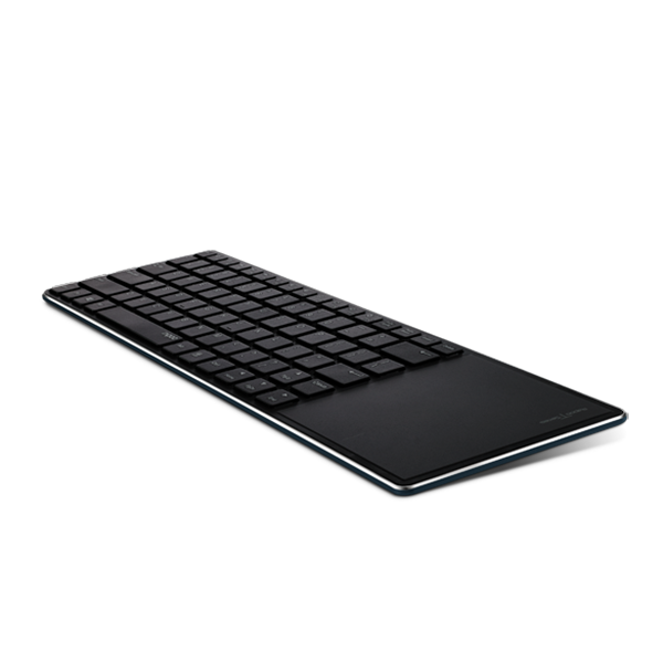 Rapoo Keyboard Ultra Slim Bluetooth with Touchpad E6700 - Black