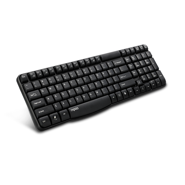 Rapoo Keyboard Wireless E1050 - Black