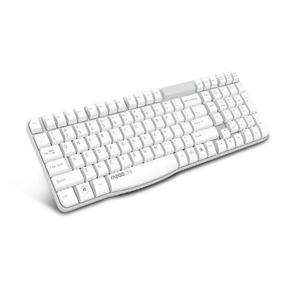 Rapoo Keyboard Wireless E1050 - White