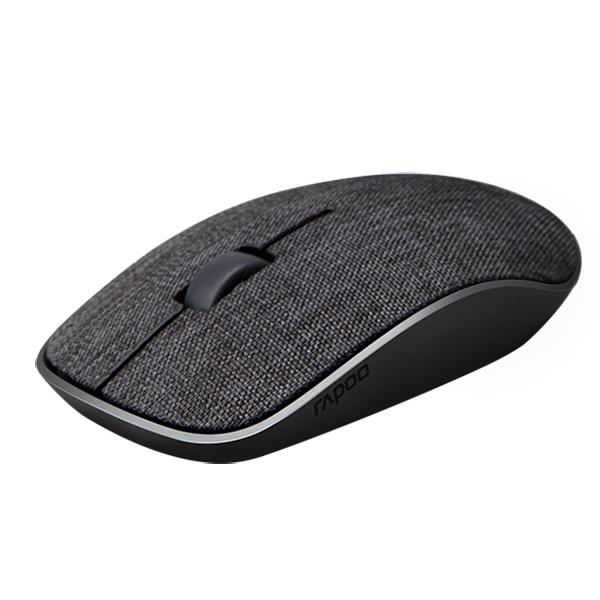 Rapoo Wireless Optical Fabric 3510 Plus Mouse - Black