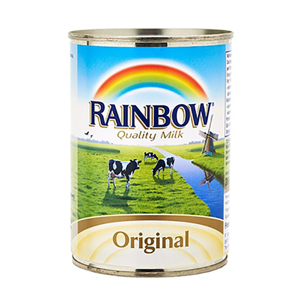 Rainbow Original Evaporated Milk - 385ml (pc)