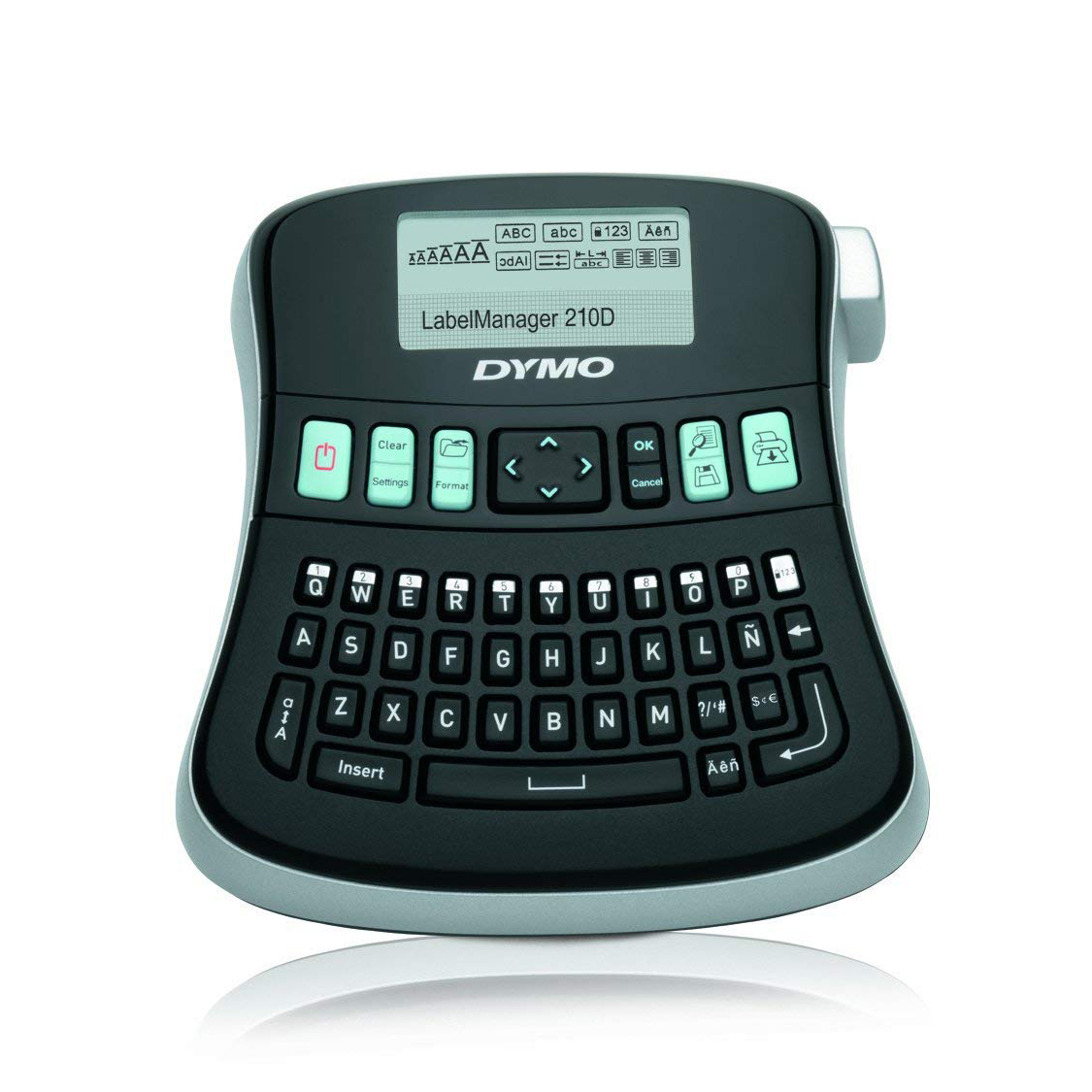 Dymo S0784440 Label Manager 210D Label Maker with Qwerty Keyboard