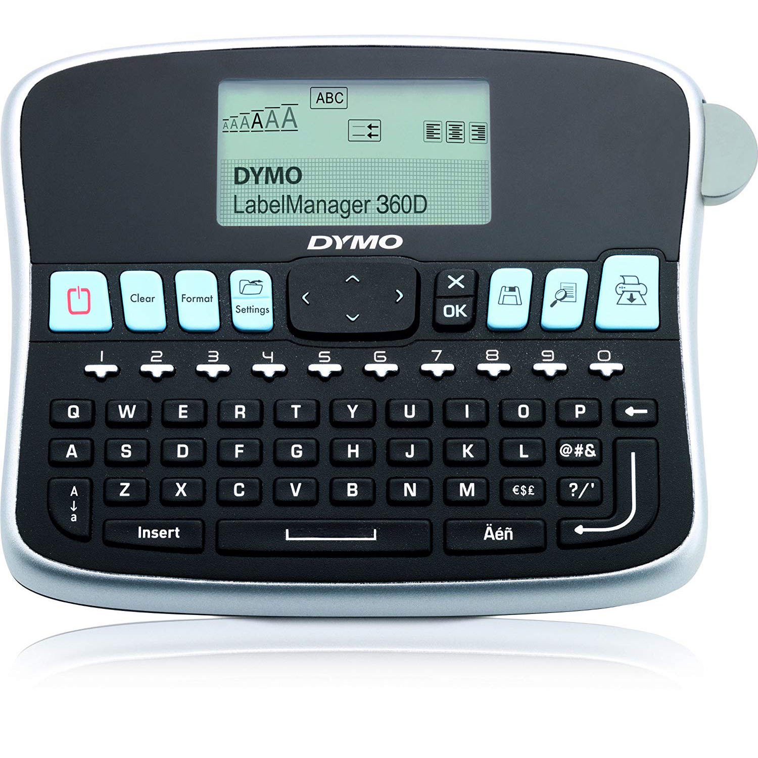 Dymo S0879490 LabelManager 360D Handheld Label Maker with Qwerty Keyboard