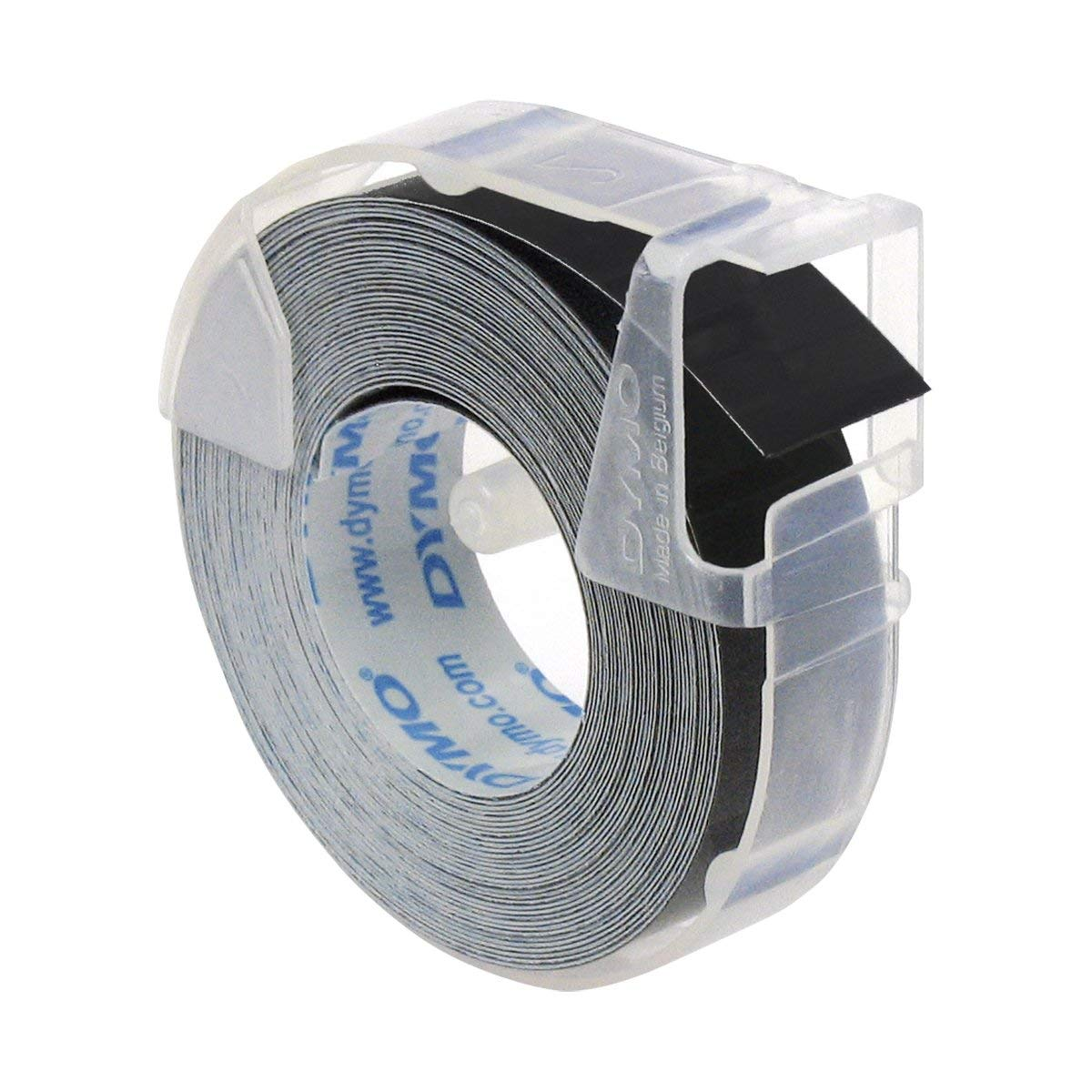 Dymo S0898130 (524709) 3D Embossing Tape 9mm x 3m - White On Black (pc)