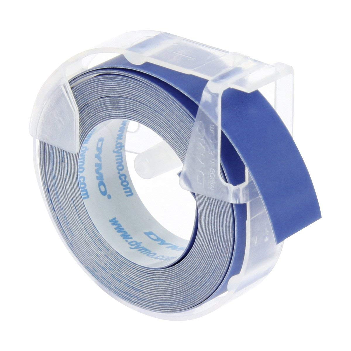 Dymo S0898140 3D Embossing Tape 9mm x 3m - White On Blue (pc)