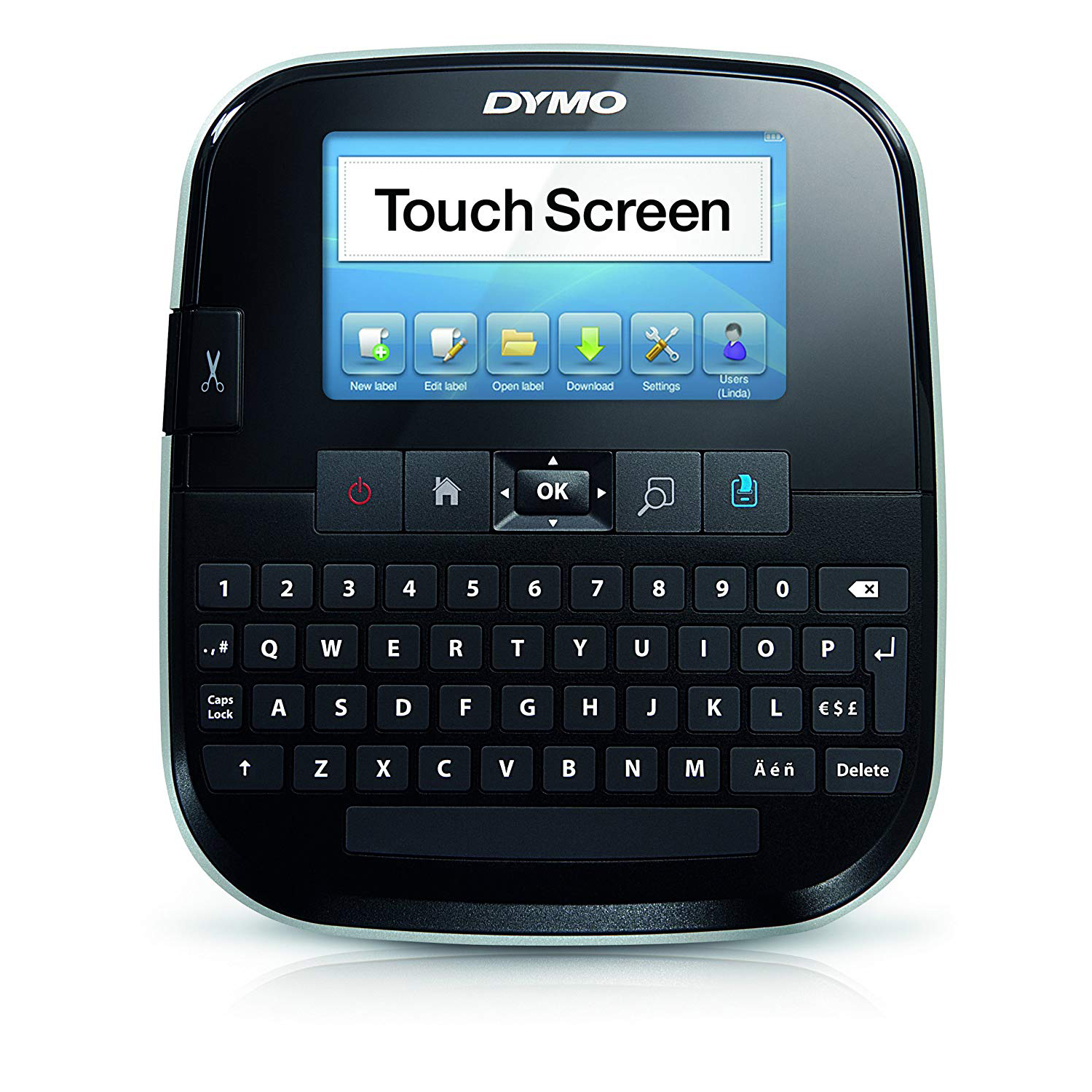 Dymo S0946420 LabelManager 500TS Touch Screen Handheld Label Maker with Qwerty Keyboard (D1 Tape)