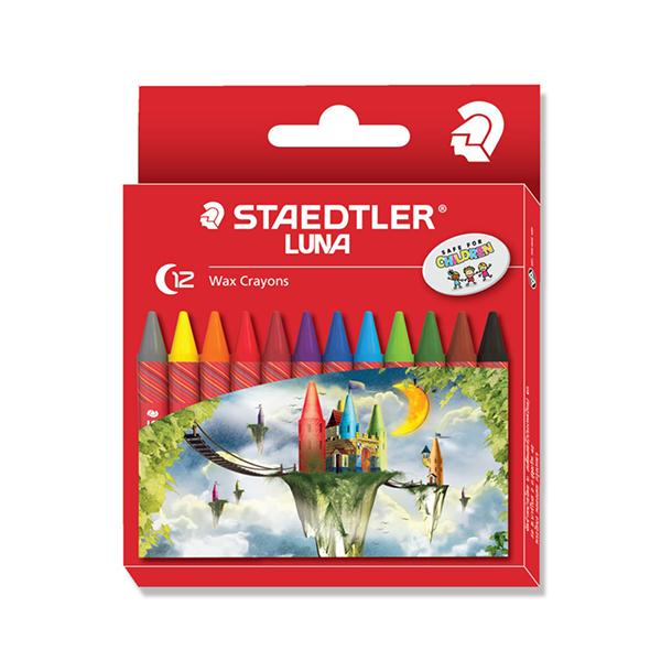 Staedtler Luna Wax Crayons (pkt/12pcs)