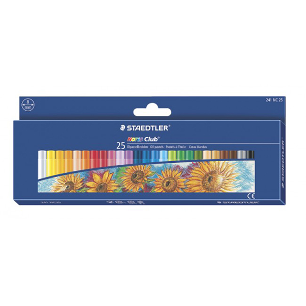 Staedtler Noris Club Oil Pastels (box/25pcs)