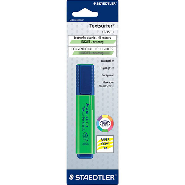 Staedtler Textsurfer Highlighter Pen - Green (pc)
