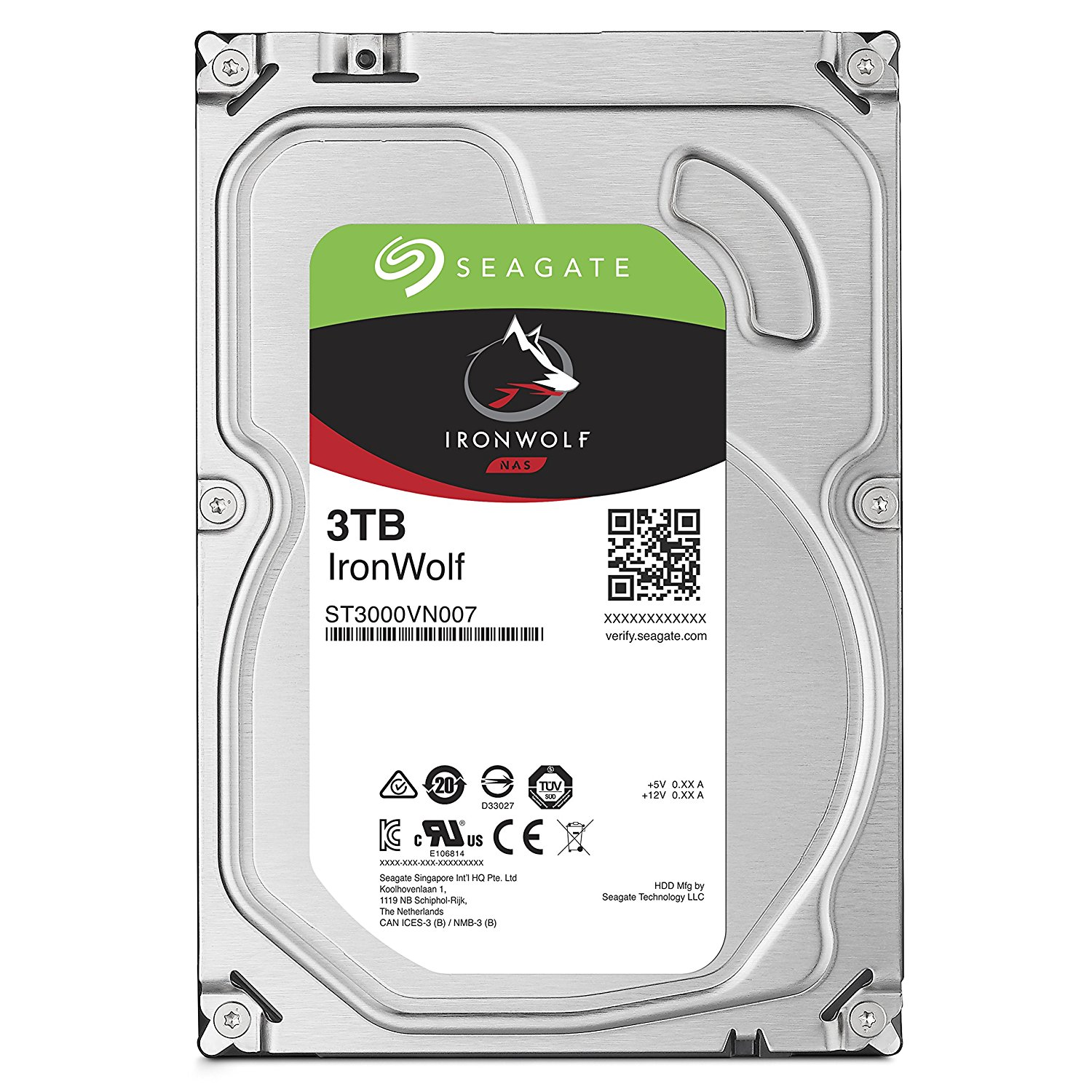 Seagate IronWolf 3TB NAS HDD