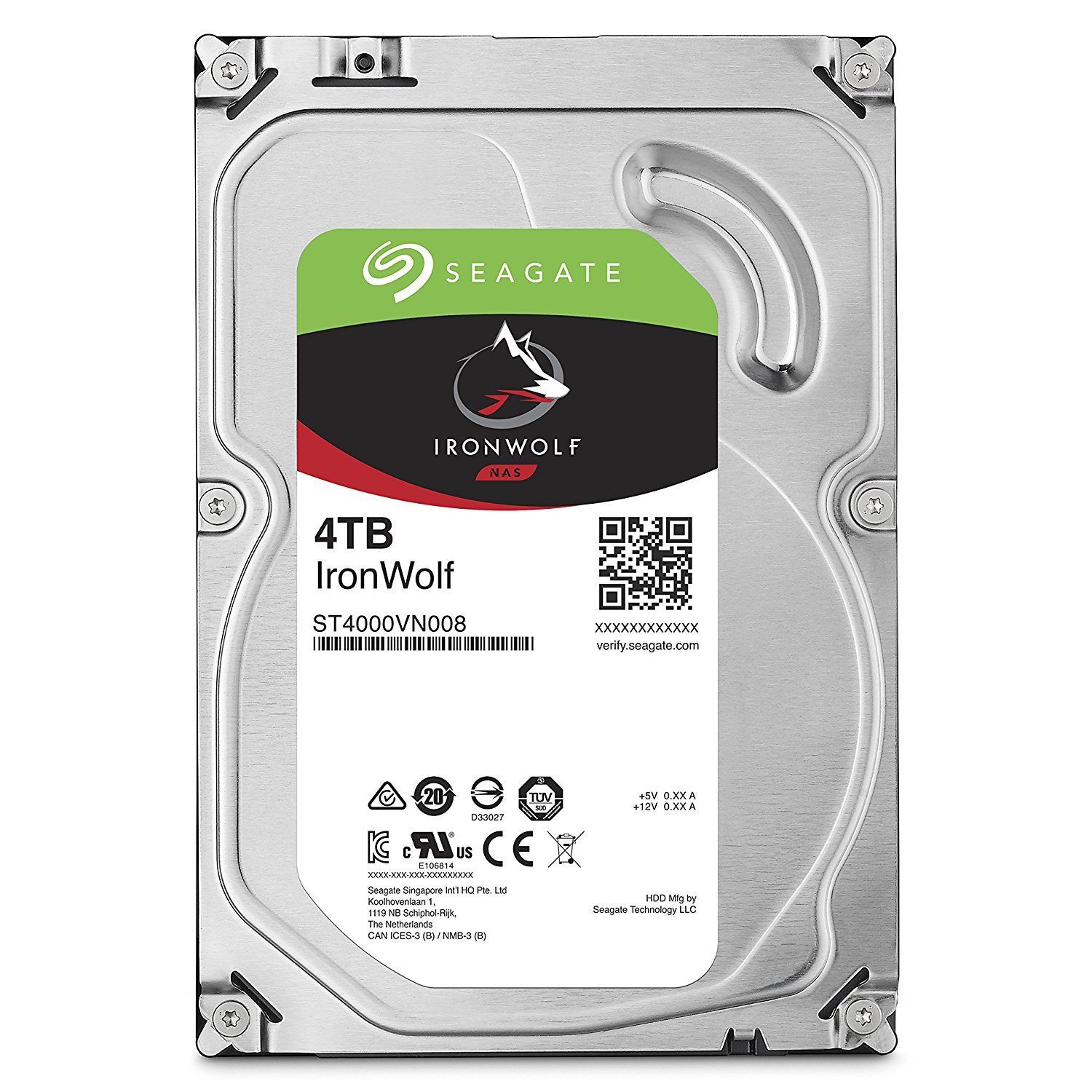 Seagate IronWolf 4TB NAS HDD
