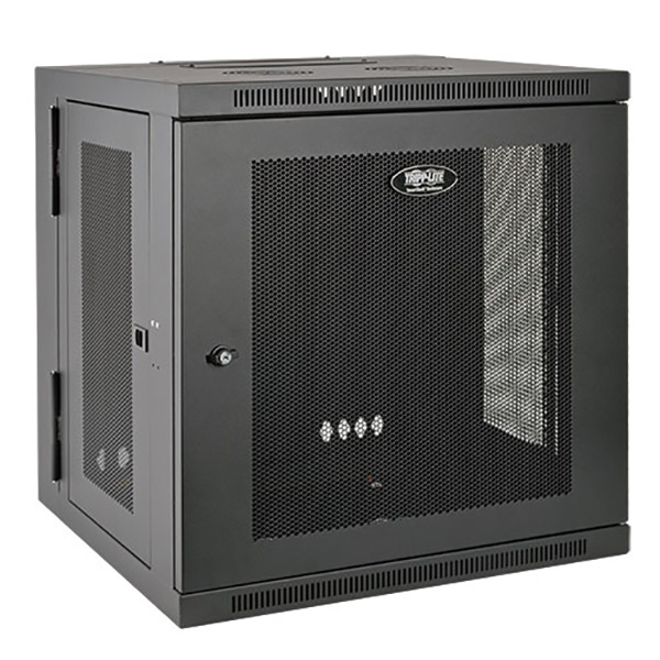 SmartRack 12U Low-Profile Switch-Depth Wall-Mount Rack Enclosure Cabinet (pc)