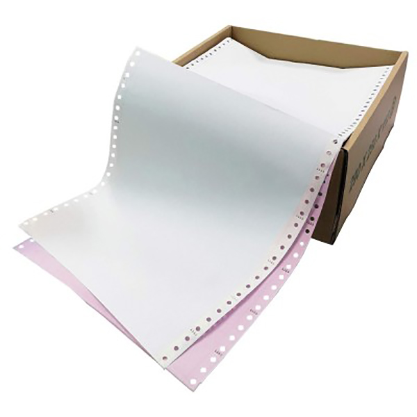Epson 2-ply Computer Paper White/Pink (box)