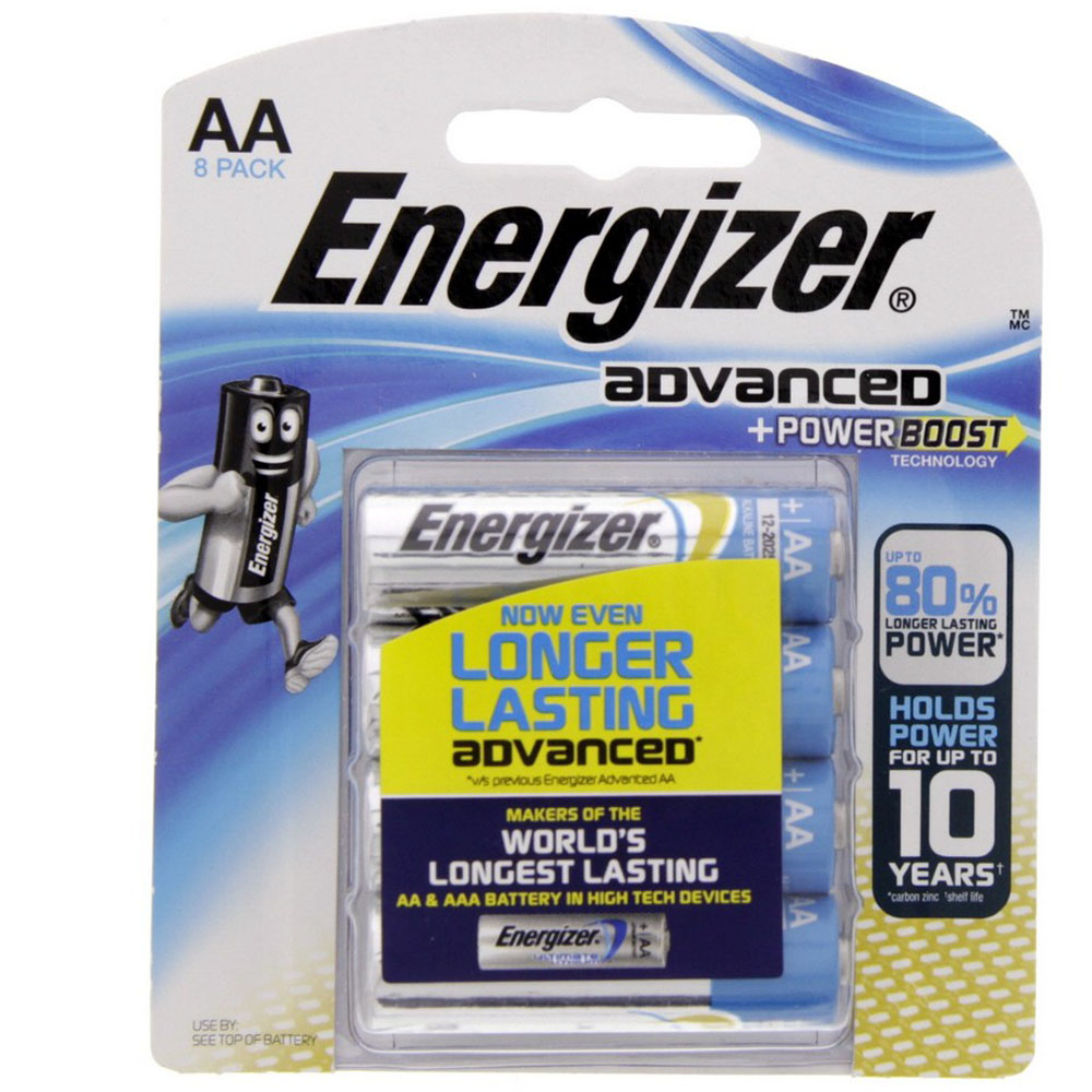 Energizer X91BP8 Advanced Power Boost Batteries (pkt/8pc)