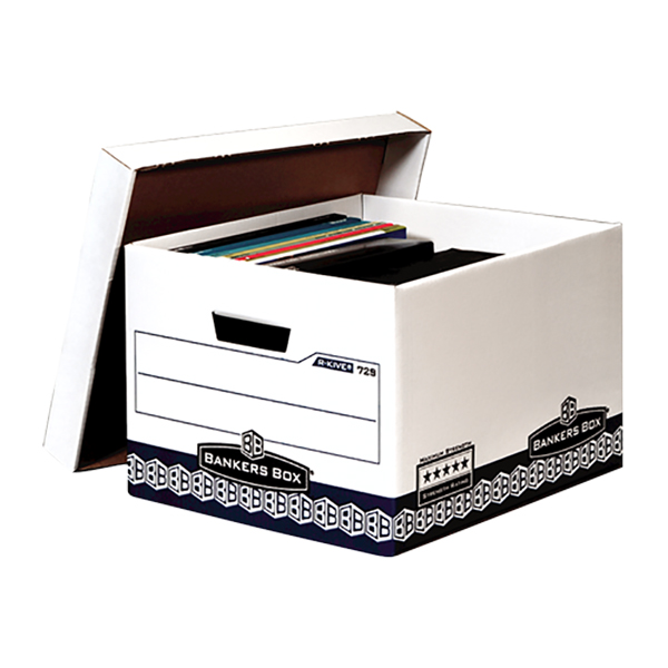 Fellowes Bankers Box Archive Series Standard Storage Box - Extra Strength