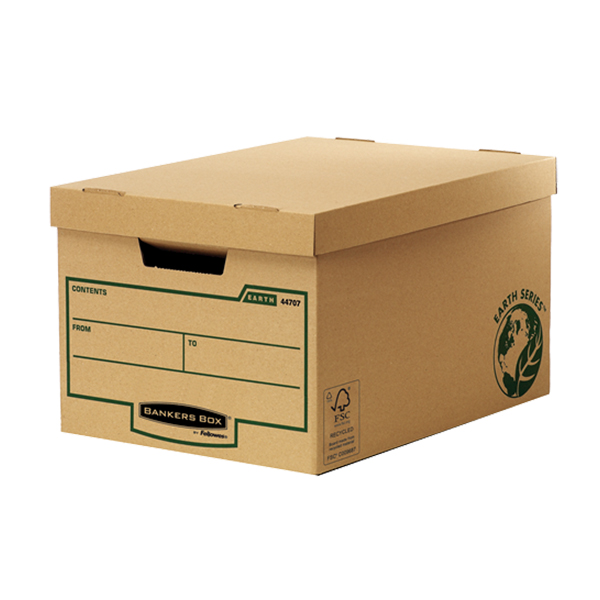 Fellowes Bankers Box Earth Series Standard Storage Box - Extra Strength