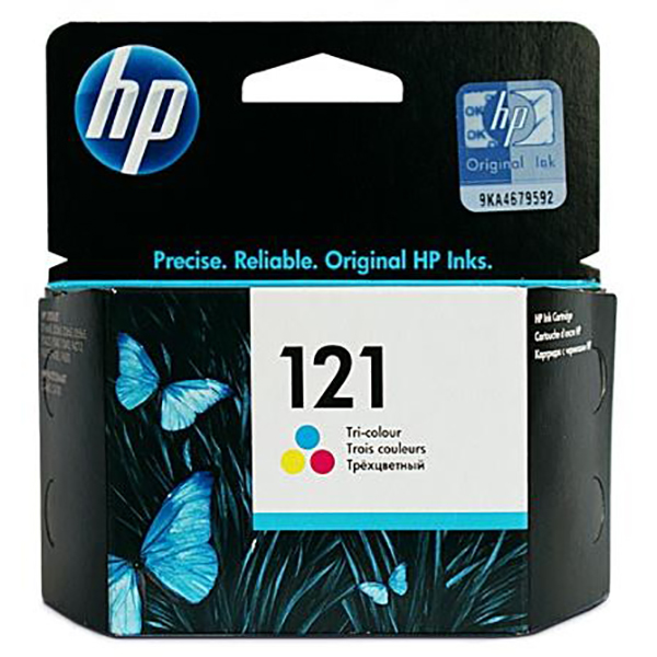 HP Ink Cart 121 CC643 (Tri-Color)
