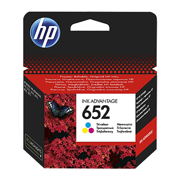 HP Ink Cart 652 (Tri-color)