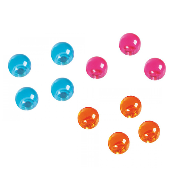 Magnetoplan Magnetic Balls COP 1666044 - Orange (pkt/4pcs)