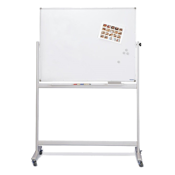 Magnetoplan Mobile Magnetic Whiteboard - 120cm x 90cm (pc)