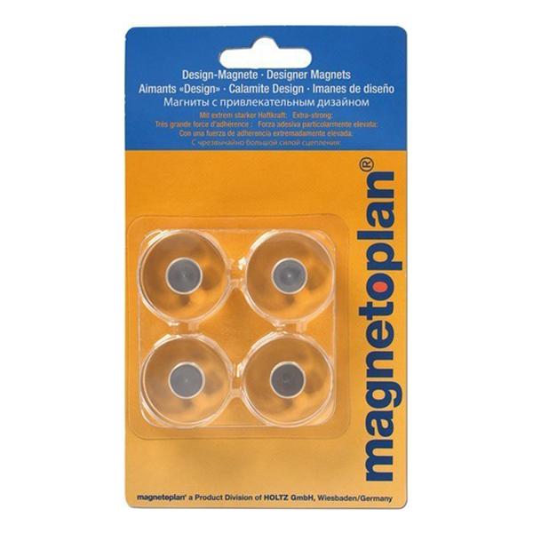 Magnetoplan Innovative Design Magnets (4pcs/pk)