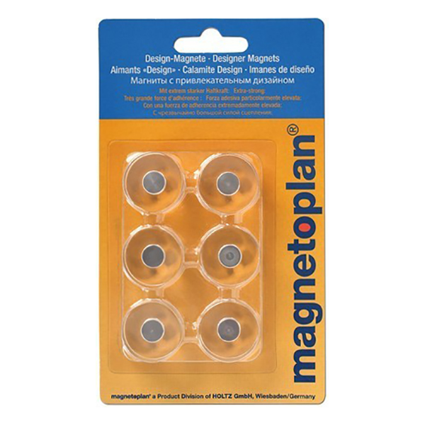 Magnetoplan Innovative Design Magnets (6pcs/pk)