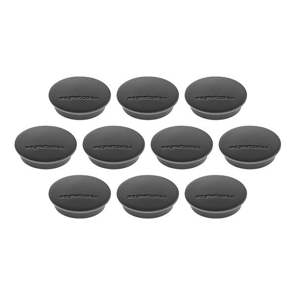 Magnetoplan COP 16621312 Magnetic Discofix Junior - Black (pkt/3pcs)